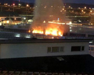Incendio en un hospital de Ushuaia: los pacientes debieron ser trasladados
