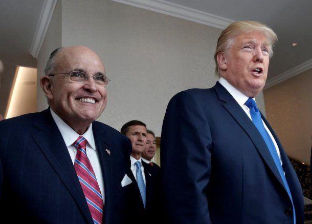 Donald Trump y Rudolph Giuliani