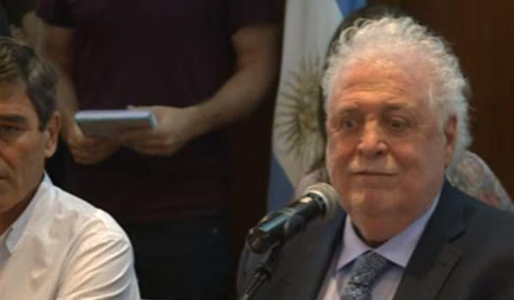 Ginés González García confirmó el primer caso de coronavirus en Argentina