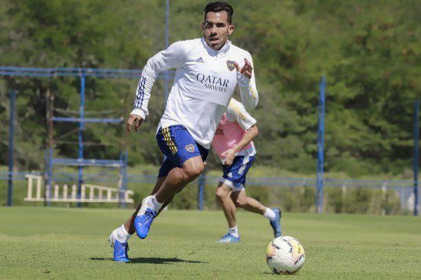 Carlos Tevez volvió a los entrenamientos. Foto: @BocaJrsOficial