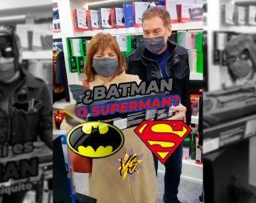 Patricia Bullrich es Batman: ¿Diego Santilli es Robin?