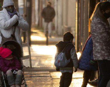 Advertencia violeta por ola de frío en casi toda Argentina
