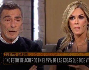 El picante cruce de Gustavo Garzón con Viviana Canosa