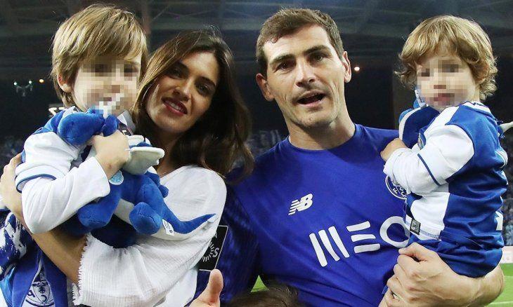 Iker Casillas reveló cuál de sus hijos sigue sus pasos