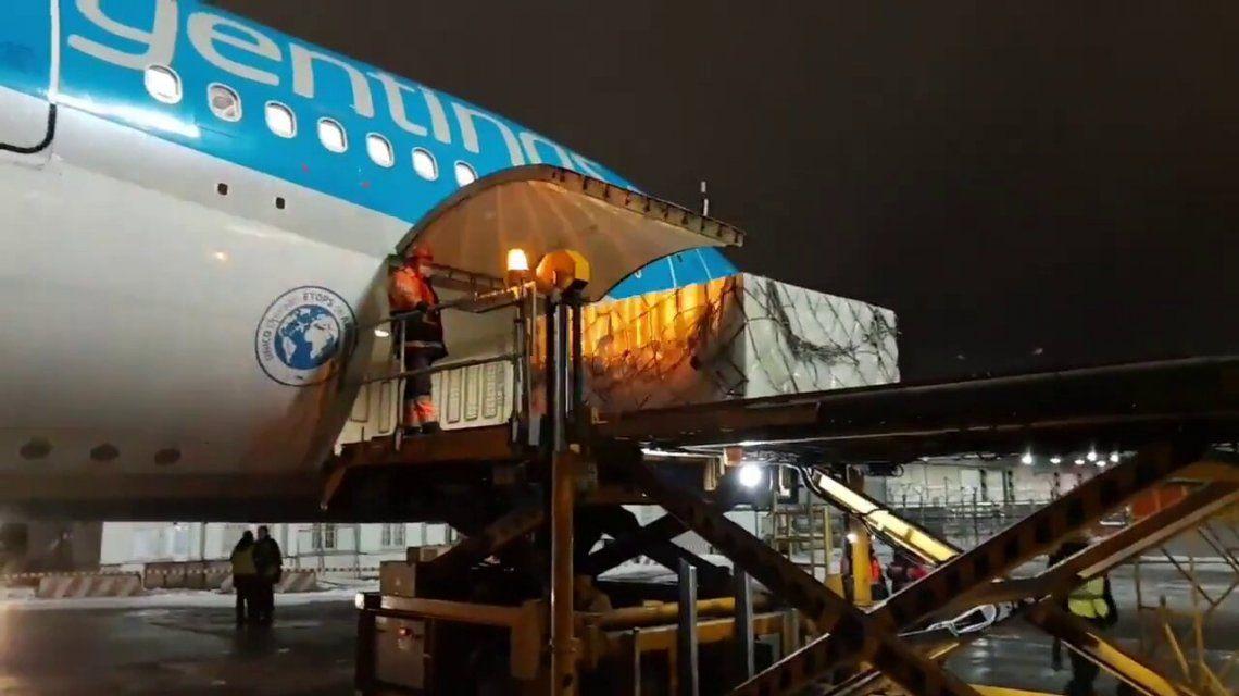 Este martes sale el avión de Aerolíneas Argentinas a China para traer 1 millón de dosis de la vacuna Sinopharm