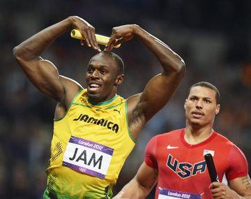 Usain Bolt se despidió de Londres con otro récord y otro oro