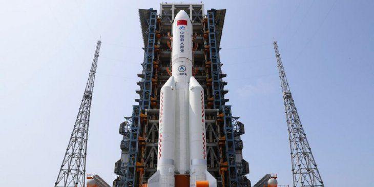 Oficial: China adelanta lo que pasará con el cohete que caerá a la Tierra