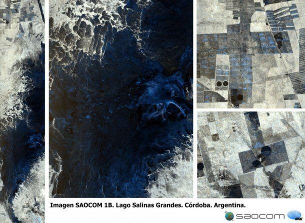 Agua, vegetación y actividad agrícola en la provincia de Córdoba, vista por el SAOCOM 1B el 18 de septiembre