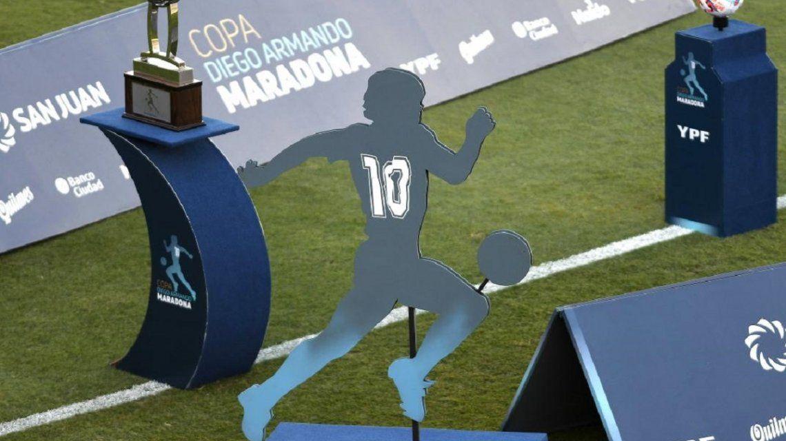 Los detalles de la nueva Copa Maradona que arrancaría en febrero