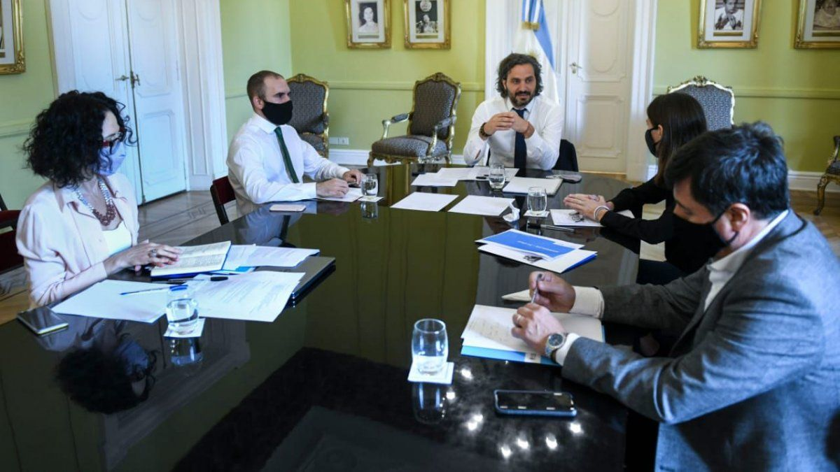 Resultado de imagen para gabinete economico argentina