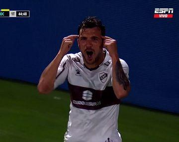 El ex Boca campeón con River le gritó el gol en la cara al Xeneize