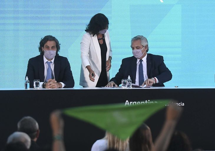 Alberto Fernández promulgó la Ley del Aborto: Estamos haciendo una sociedad más justa