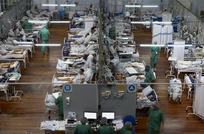 Nuevo récord de muertes diarias por coronavirus en Brasil