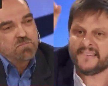 Leandro Santoro dejó sin palabras a Fernando Iglesias: Te cagaste de risa de los muertos por covid