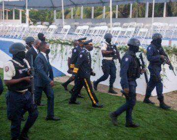 Tiros en el funeral del presidente de Haití