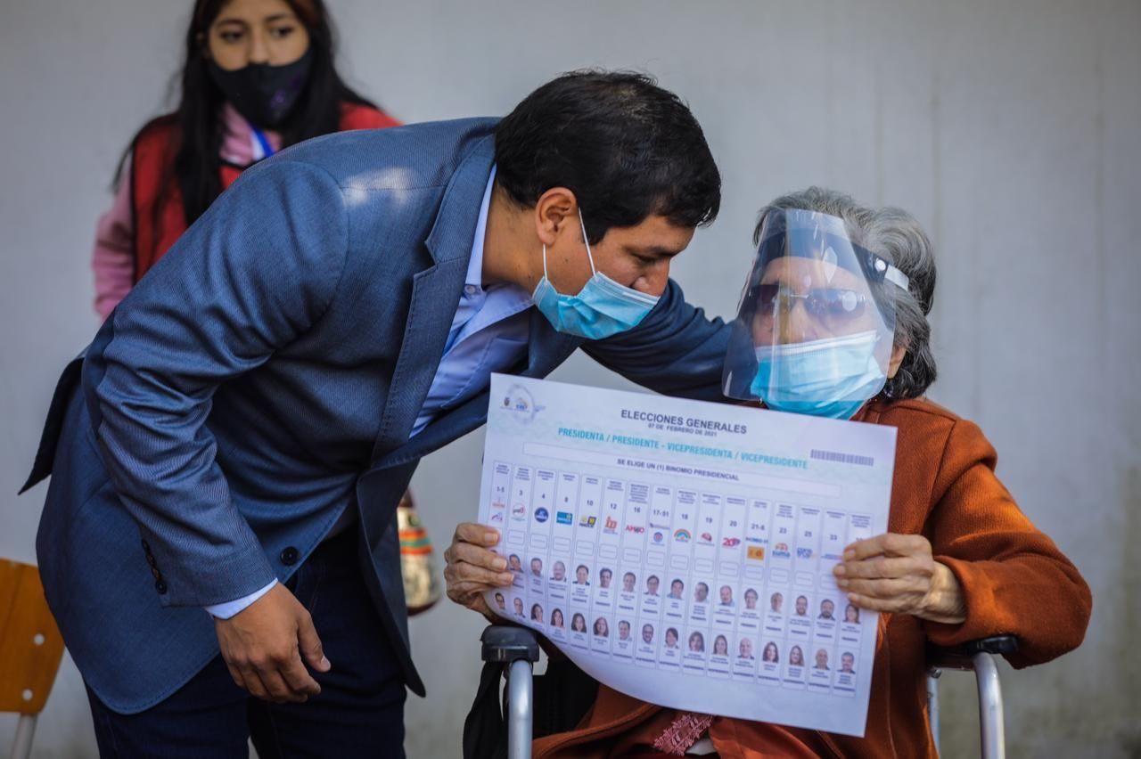 Elecciones en Ecuador: Arauz