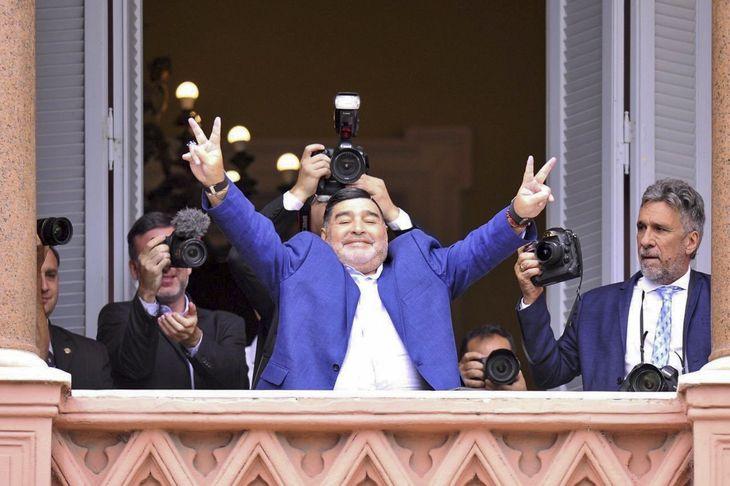 Dónde es el velatorio de Maradona