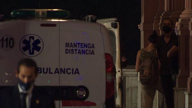 El cuerpo de Diego Maradona llegó a la Casa Rosada