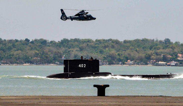 Indonesia: se perdió un submarino con 53 personas a bordo