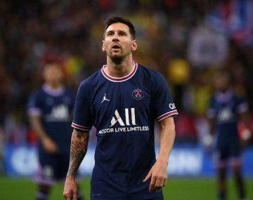 La prensa francesa apuntó contra Lionel Messi