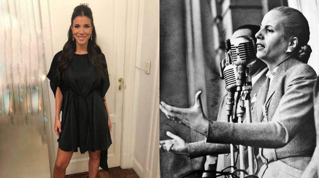 El mensaje de Andrea Rincón por el aniversario de la muerte de Eva Perón