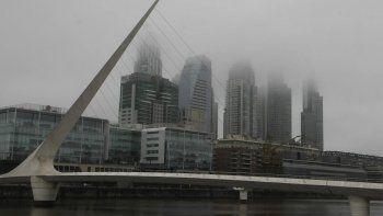 Se espera una jornada con neblinas matinales en la Ciudad y el Conurbano