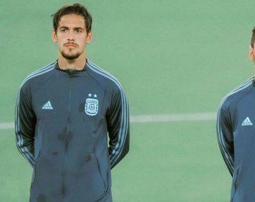 Martínez Quarta fue papá por tercera vez horas antes de jugar para Argentina con Chile