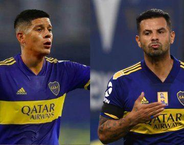 Boca recuperó a Marcos Rojo y Edwin Cardona