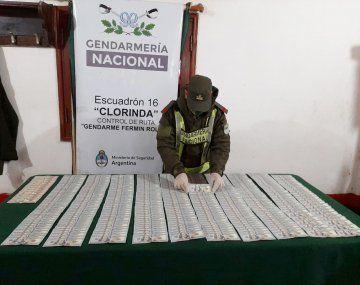 Formosa: hallan casi 40 mil dólares escondidos en la fusilera de un camión paraguayo