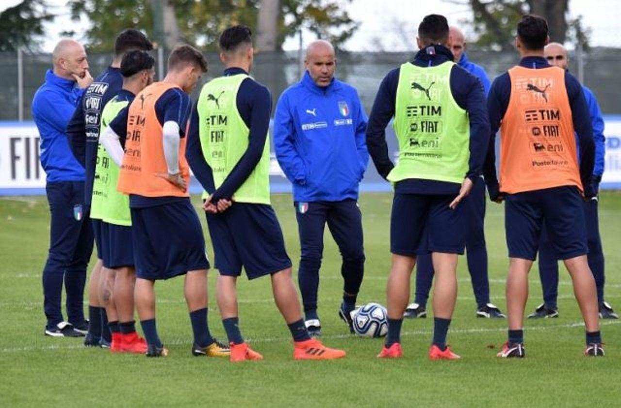 La Selección italiana confirmó a los 24 jugadores que enfrentarán a Argentina