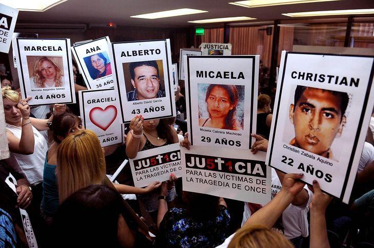 Tragedia de Once: hicieron fata dos juicios para condenar a los responsables