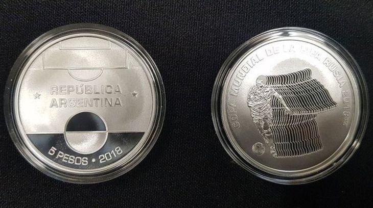 Esta es la moneda conmemorativa de Rusia 2019