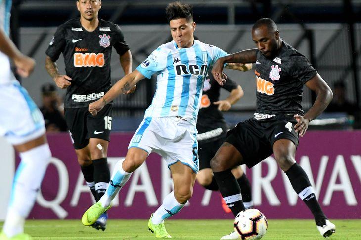 Racing cayó ante Corinthians en los penales y quedó eliminado de la Copa Sudamericana