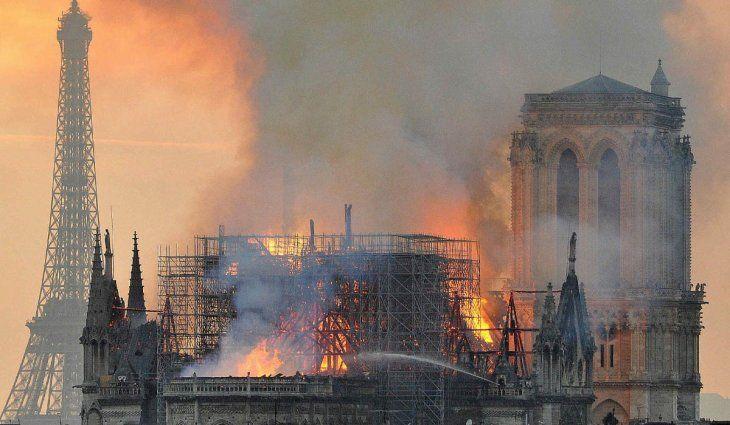 A dos años del incendio: así está hoy la catedral de Notre Dame
