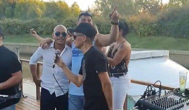 Fiesta clandestina en Nordelta: tocaba El Show de Andy y estaba Clemente Rodríguez