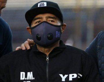 Revelaron cuál fue la última arenga de Diego Maradona al plantel de Gimnasia