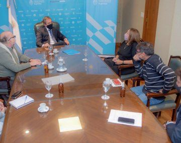 Martín Soria recibió a representantes de organizaciones por los Derechos Humanos