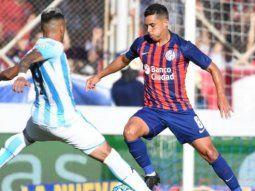 racing vs. san lorenzo por  la copa de la liga: horario, formaciones y tv