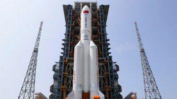 china adelanta lo que pasara con el cohete que caera a la tierra