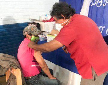 Formosa ya vacunó a todos los mayores de 60 años con la primera dosis