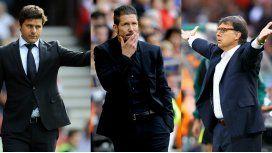 Los entrenadores argentinos Gerardo Martino, Diego Simeone y Mauricio Pochettino son candidatos a ganar el premio a mejor director técnico del año de la FIFA.