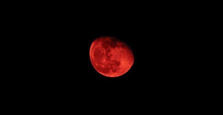 Eclipse lunar total: cuándo y dónde podrá verse la Luna de sangre