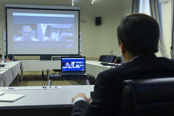 Videoconfernecia de Nicolás Trotta por el aislamiento contra el coronavirus Covid-19 - Crédito:@EducacionAR