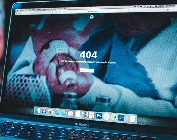 Apagón de internet: se caen sitios web y ya hay dispositivos que registran problemas