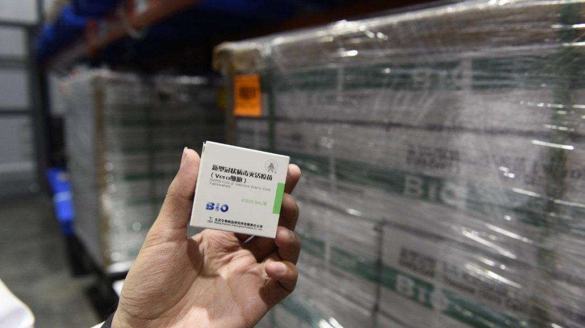 Comienza la distribución de más de 400 mil vacunas Sinopharm a todo el país