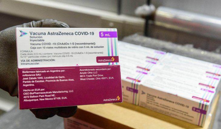 Este viernes llegan 1,2 millones de vacunas de Astrazeneca y la Argentina tuvo una semana récord de arribo de dosis