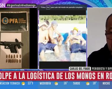 Realizan 84 allanamientos en Rosario que apuntan a Los Monos y otras bandas narcocriminales