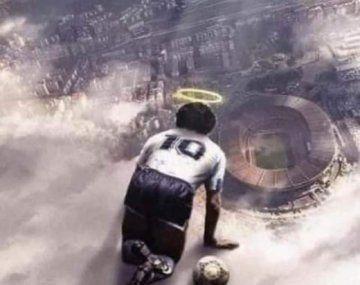 Hola Diego: los memes al Cielo para que Maradona ayude