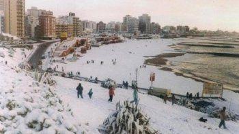 ¿Nieve en el fin de semana largo? Advertencia violeta por bajas temperaturas para Mar del Plata