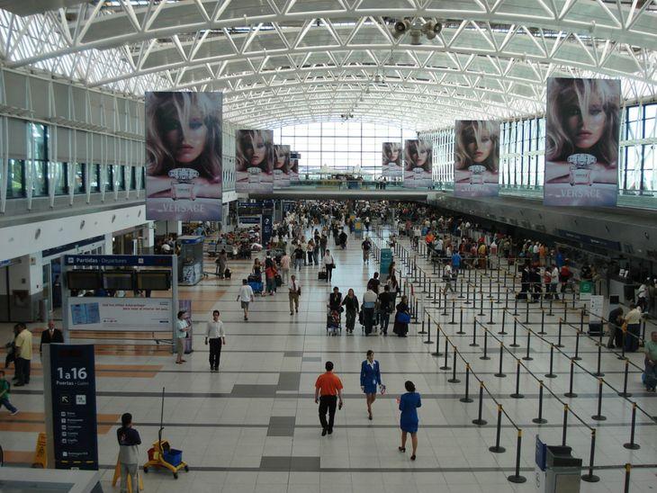 Ezeiza: Hubo demoras en vuelos de Latam por una asamblea de UPSA